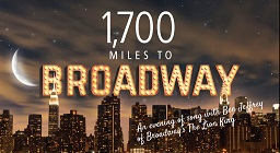 '1,700 Miles to Broadway: An Evening of Song With Ben Jeffrey'