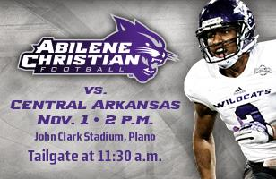 ACU in Plano tailgate