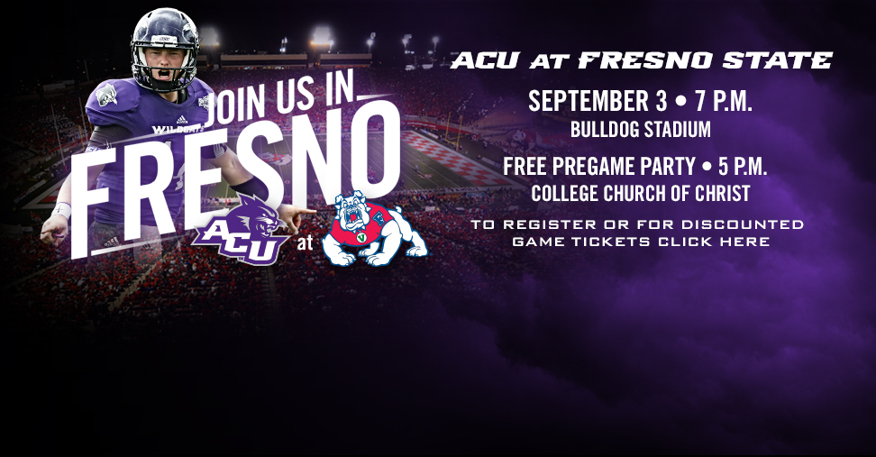 ACU Pre-Game Party at Fresno State