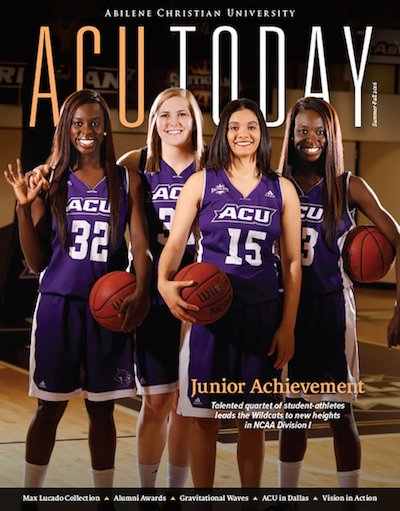 ACU Today: Summer-Fall 2016 issue released