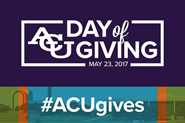 Day of Giving largest in ACU history