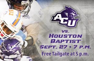 ACU at HBU tailgate
