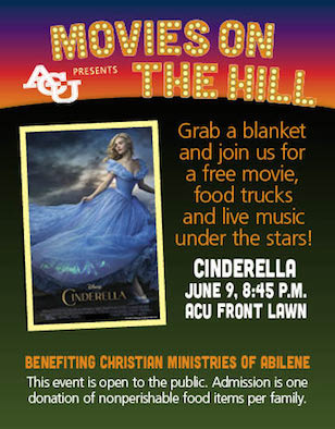 Movies on the Hill:<br><i>Cinderella</i>