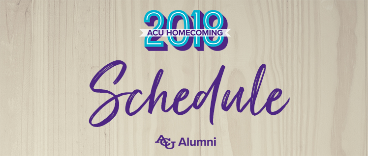 Acu 2019 timetable online dating